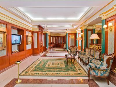 Холл отеля - 1 часть