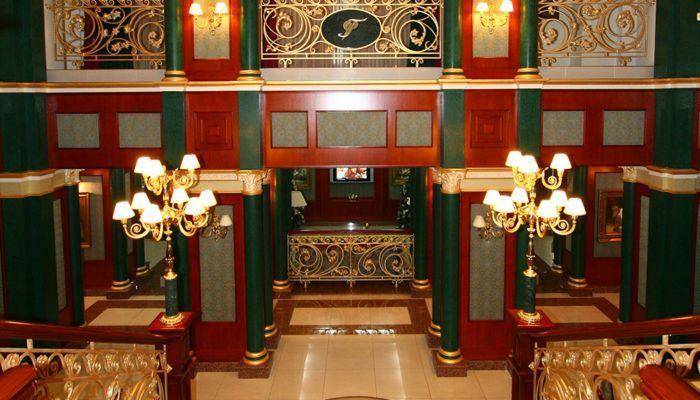 Холл отеля — 2 часть