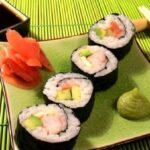 Японская кухня в ресторане Украина