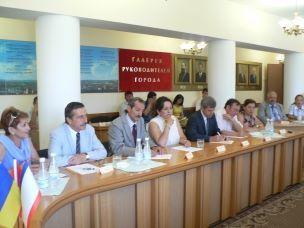 Встреча с делегацией из турецкого города Эскишехир