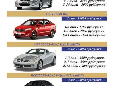 Аренда автомобилей