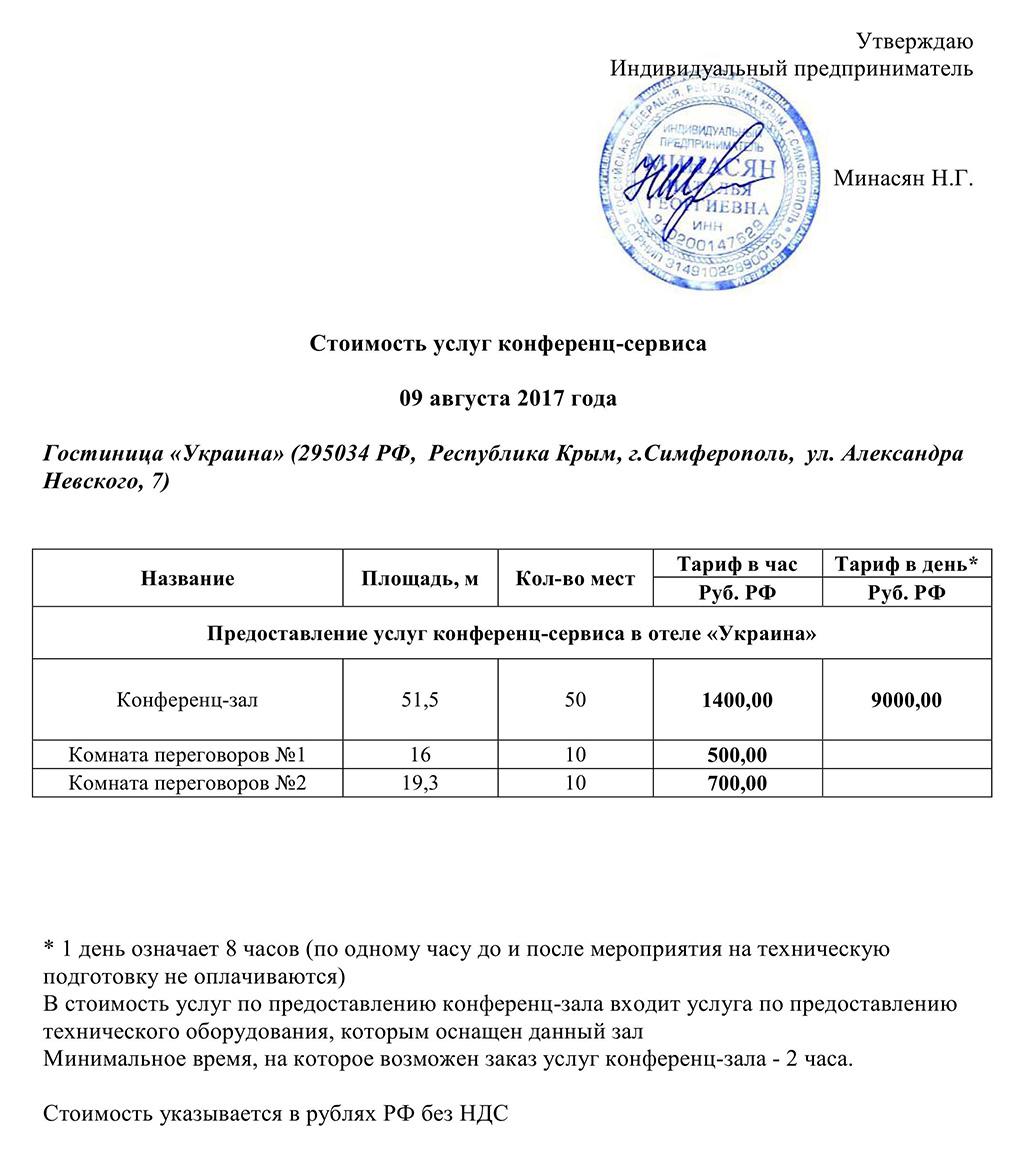 Цены на регистрацию ип в симферополе опись документов при регистрации ип